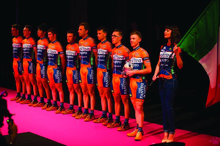Giro d' Italia 2015 / Vittoria Cycling Shoes