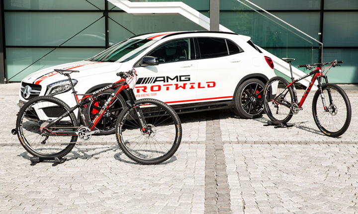 AMG ROTWILD MTB Racing Team newly positioned