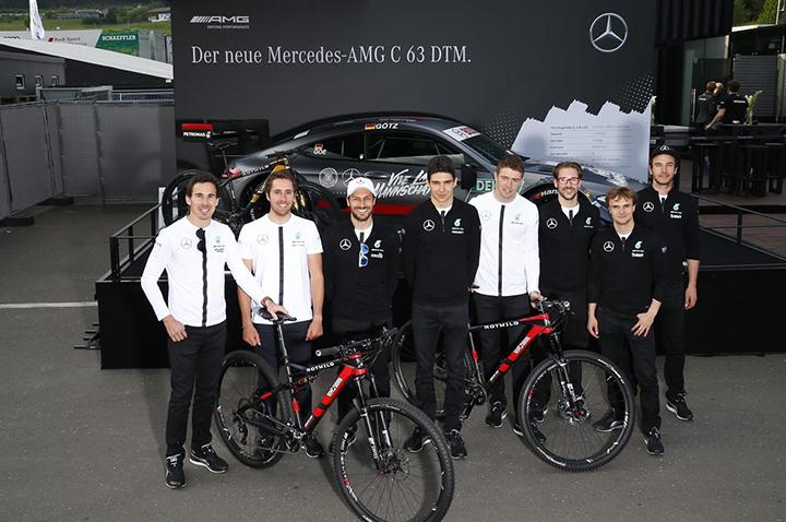 「红鹿」Rotwild 與 奔馳 AMG DTM 車隊進行聯合推廣活動