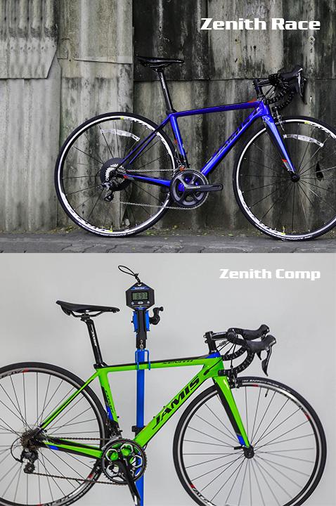 Review Jamis Zenith Comp & Jamis Zenith Race