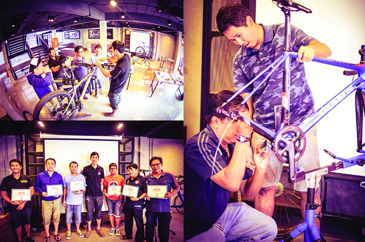 Bicycles Repair and Maintenance Program